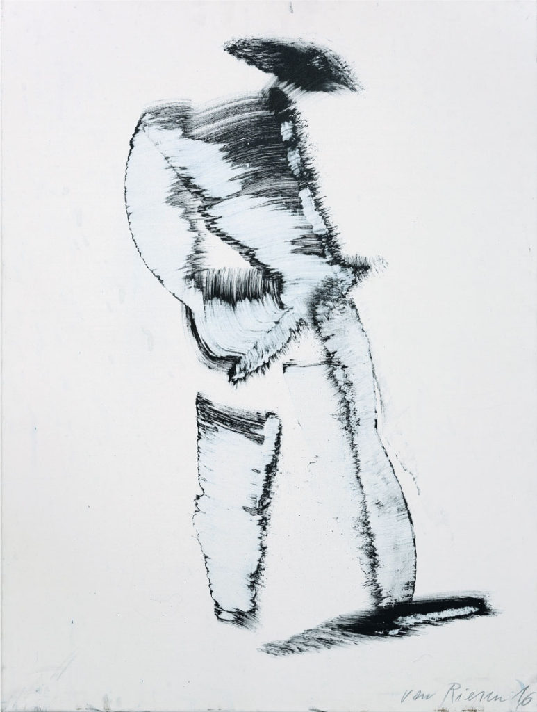 Nicht richtig hingeschaut, Acryl auf Leinwand, 80 x 60cm, 2016