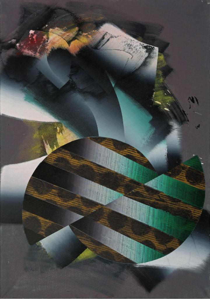 Für Papageno, Acryl auf Leinwand, 100 x 70 cm, 2015