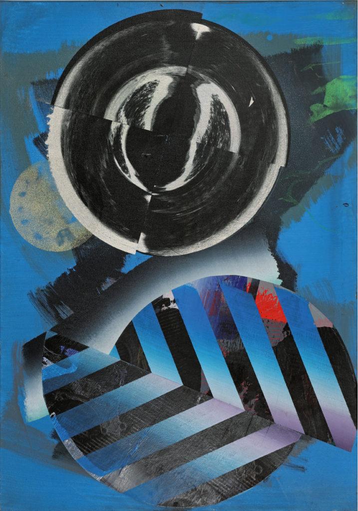 Wiederkehr, Acryl auf Leinwand, 100 x 70 cm, 2015