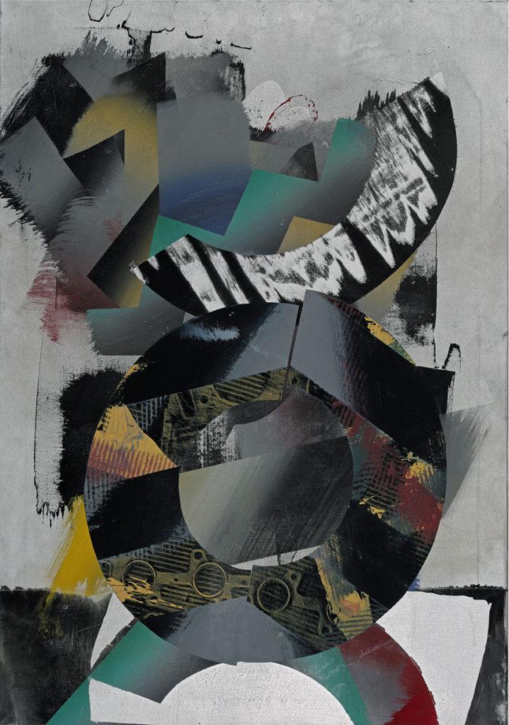 Rätsel, Acryl auf Leinwand, 100 x 70 cm, 2014/2015