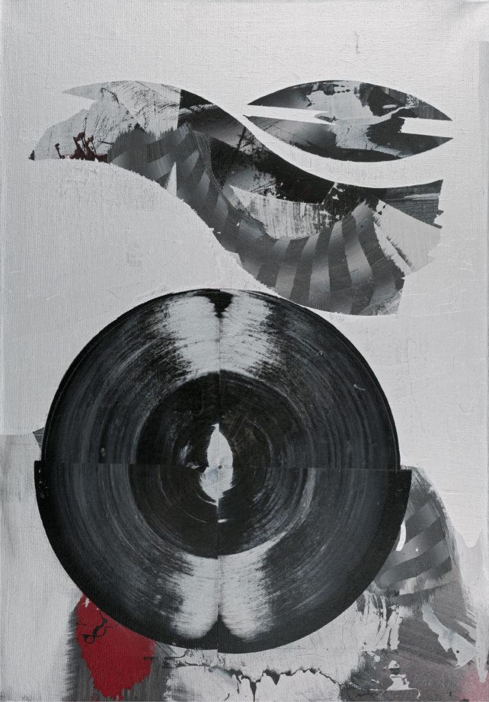 Jeder Zweifel überflüssig, Acryl auf Leinwand, 100 x 70cm,  2015