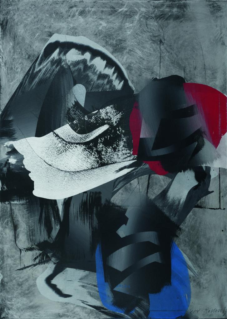 Verwandlung, Acryl auf Leinwand, 140 x 100cm, 2013