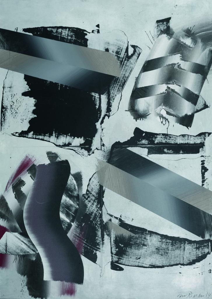 Stakkato, Acryl auf Leinwand, 140 x 100cm, 2012