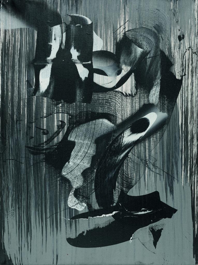 Flügelschlag, Acryl auf Leinwand, 80 x 60cm, 2014